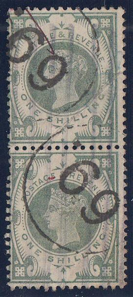 "86293 - ""69"" ENGLISH TELEGRAPH CANCELLATION. A good used v..."