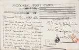 86510 - 1907 UNPAID MAIL USED LOCALLY IN BRISTOL/'CH' INSPECTOR'S MARK (BS199). Post card used locally in Bristol, postage unp...