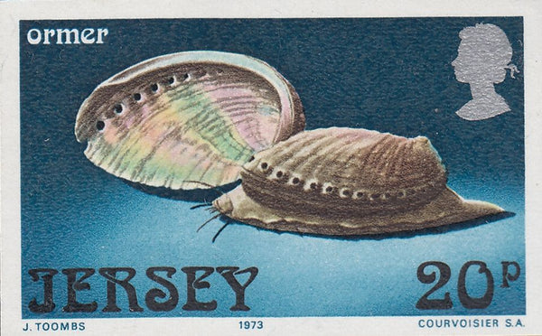 86550 - 1973 JERSEY MARINE LIFE IMPERF PLATE PROOFS (SG99-102). A fine unmounted set of four IMPERF PLATE PROOFS of the 1973 Marine Life issue (SG99-102)