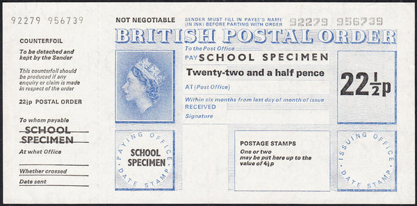 88191 - POST OFFICE TRAINING SCHOOL/POSTAL ORDER. A fine 2...