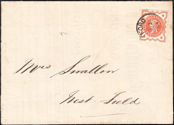 "88340 - NOTTS. 1891 large part document ""Corporation of Ea..."