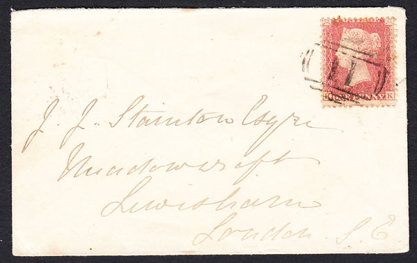 88861 - PL.44 (HK) (SG40)/HANTS. 1860 envelope Alton to Lo...