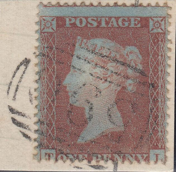 88885 - PL.176 (TL) STATE ONE (SG17). Good used 1854 1d pl...