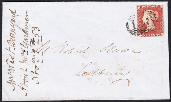 88916 - PL.169 (CE)(SG8) ON COVER. Envelope Bromyard to
