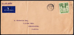 89032 - 1946 MAIL TO SOUTH AFRICA. Envelope Manchester to ...