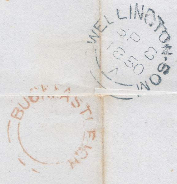 "89532 - PL.94(PC)(SG8)/BLUE ""29"" NUMERAL OF ASHBURTON ON..."