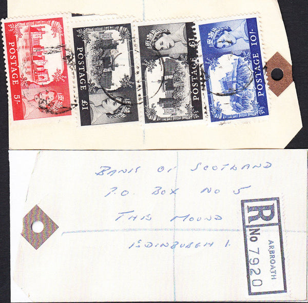 89813 - BANKERS' SPECIAL PACKET. Undated tag with Castles ...