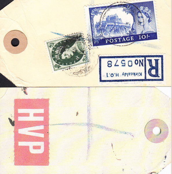89861 - HIGH VALUE PACKET MAIL. Undated parcel tag sent re...