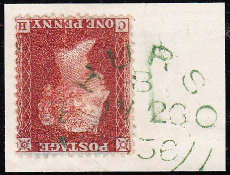 90397 - GREEN THURSO DATESTAMP CANCELLING STAMP/PL.42 (CH)...