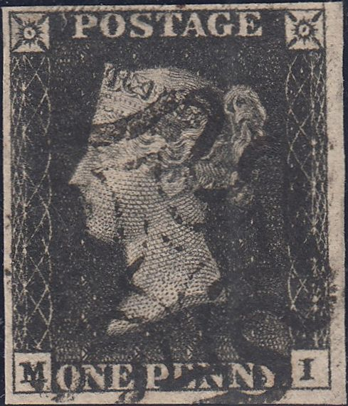 90457 - PL.6 (MI) (SG3). Fine to very fine 1d grey/black p...
