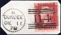 90571 - DUNDEE DOTTED CIRCLE (RA28)/PL.181 (PL) (SG43). Sm...