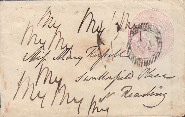 "90588 - 1846 LONDON DISTRICT ""6"" NUMERAL OF EDGWARE ON COVER."