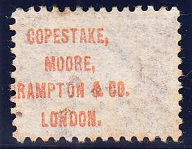 "90684 - ""COPESTAKE, MOORE, CRAMPTON and CO. LONDON."" UNDERPR..."