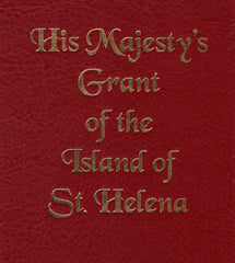 90988 - HIS MAJESTY'S GRANT OF THE ISLAND OF ST.HELENA. 19...