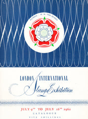 91031 - 1960 LONDON INTERNATION STAMP EXHIBITION. A good c...