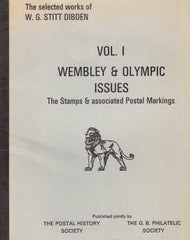 91103 - WEMBLEY and OLYMPIC ISSUES VOL.1 - THE STAMPS AND AS...