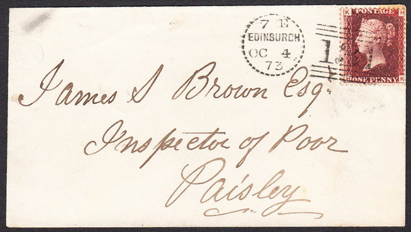 91174 - EDINBURGH DOTTED CIRCLE (RA9)/PL.165 (HK)(SG43). 1...