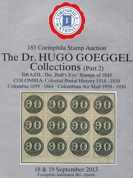 91356 - THE DR. HUGO GOEGGEL COLLECTIONS (PART 2). Very fi...