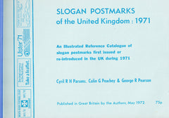 91366 - SPECIAL EVENT POSTMARKS/SLOGAN POSTMARKS/LOCAL PUB...