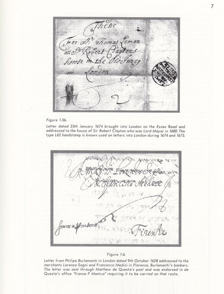 93472 - LETTER RECEIVERS OF LONDON 1652-1857 BY HUGH FELDM...