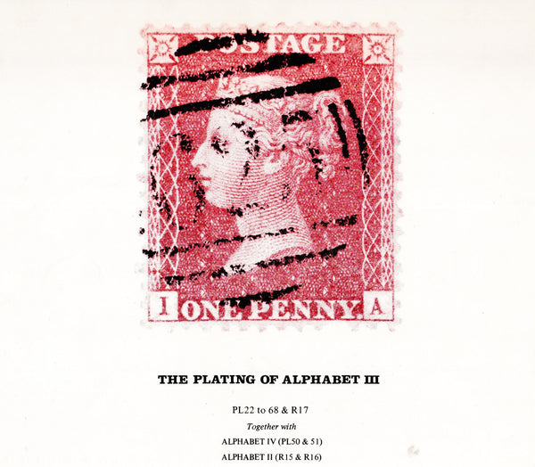 93476 - THE PLATING OF ALPHABET III BY WIGGINS/TONNA. A fi...
