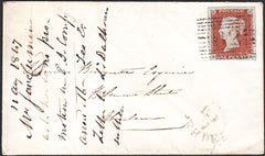 94341 - WAFER SEAL/PL.66 (ED)(SG8). 1847 envelope Craigell...