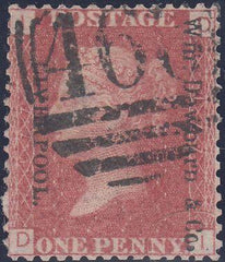 "95868 - ""WM.DAWBARN AND CO. LIVERPOOL."" UNOFFICIAL OVERPRINT..."