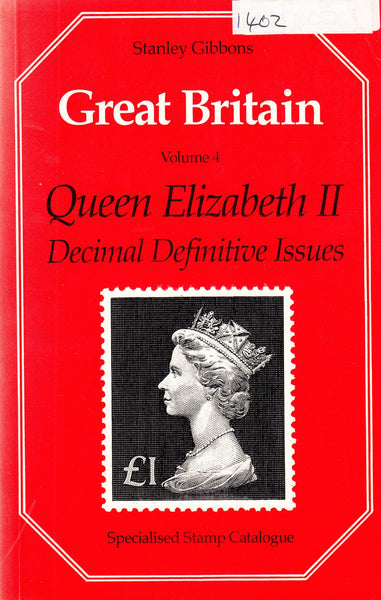 96098 - STANLEY GIBBONS GREAT BRITAIN VOL.4 QUEEN ELIZABET...