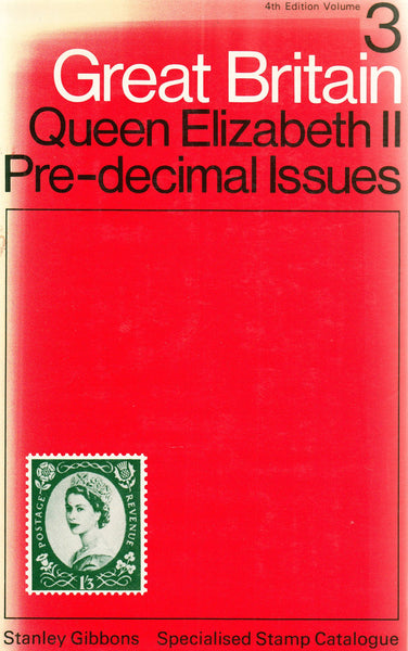 96103 - STANLEY GIBBONS GREAT BRITAIN VOL.3 QUEEN ELIZABET...