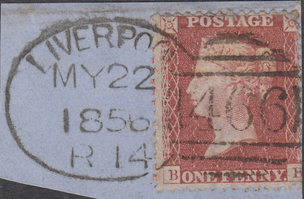 96157 - LIVERPOOL SPOON TYPE B4 (RA64)/PL.26(SG29)(BB). Piece with good Die 2 1d