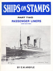 96159 - SHIPS ON STAMPS PART TWO (PASSENGER LINERS) BY E.W...