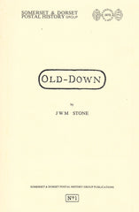 96178 - 'OLD-DOWN' by J W M Stone. A fine copy of this very ...