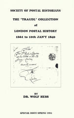 "96196 - THE ""TRAUDL"" COLLECTION OF LONDON POSTAL HISTORY 1..."