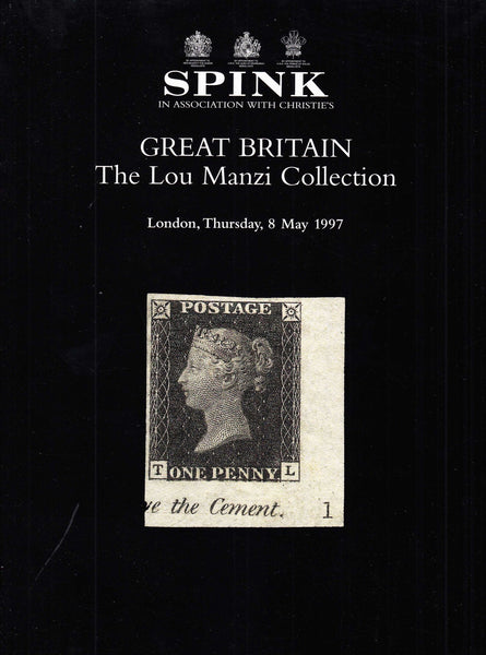 96229 - THE LOU MANZI COLLECTION OF GREAT BRITAIN. Fine co...