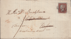 96318 - PL.63 (TJ)(SG8) ON COVER. 1846 large part wrapper Grantham ...