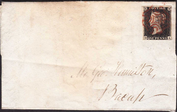 96426 - PL.8 (DA)(SG2) ON COVER. 1841 large part wrapper (...