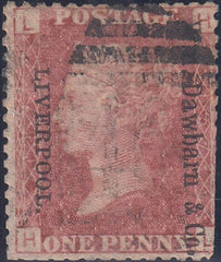 "96602 - ""Wm. Dawbarn and Co/LIVERPOOL"" UNOFFICIAL OVERPRINT ..."