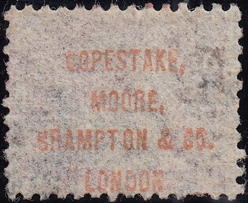"96604 - ""COPESTAKE, MOORE, CRAMPTON and CO.LONDON."" OFFICIAL..."