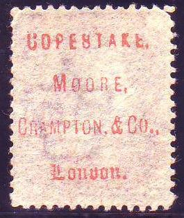 "96610 - ""COPESTAKE, MOORE, CRAMPTON, and CO., London"" OFFICI..."