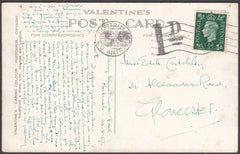 97086 - 1937 UNDERPAID MAIL. Post card Dunluce Castle to G...