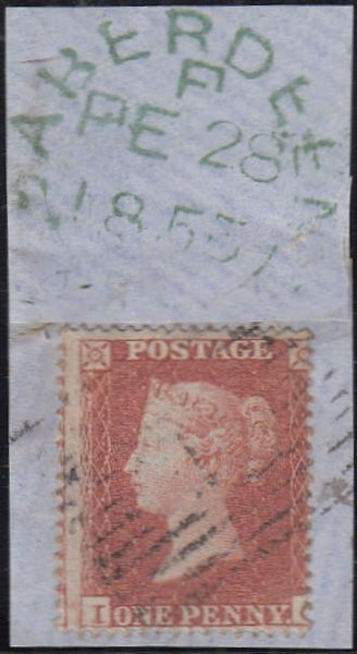 97529 - RES.PL.5 (IG)(SG17). Small piece with good used di...