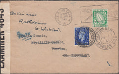 98855 - 1941 COMBINATION EIRE AND KGVI STAMPS.
