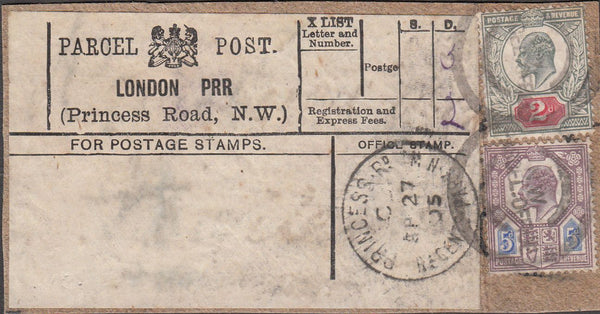 99827 - PARCEL POST LABEL.
