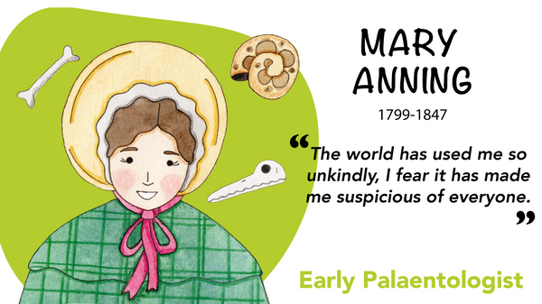 Mary Anning, Fossil hunter and paleontologist