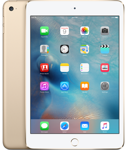 iPad mini 4 Retina Wi-Fi + Cellular Gold