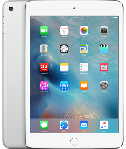 iPad mini 4 Retina Wi-Fi + Cellular Silver