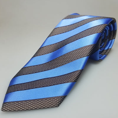 Blue w/ brown stripes - The PERSONA Store
