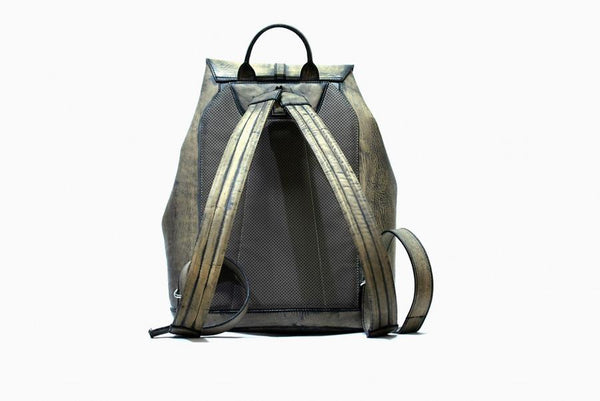 Trivoro Black Olive Backpack - The PERSONA Store