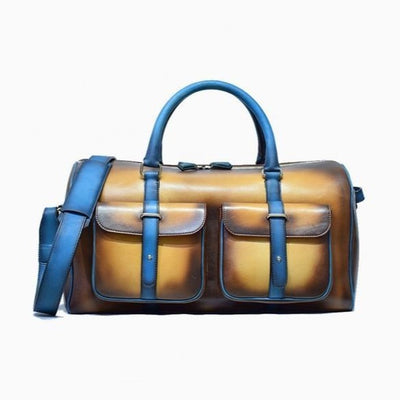 Dozano Brown w/ Blue Duffle - The PERSONA Store