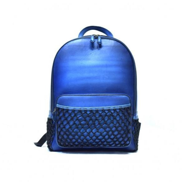 Domelo Blue Backpack - The PERSONA Store